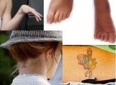 Tatuaggi di Britney Spears