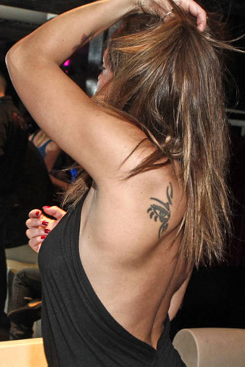113 I Tatuaggi Di Guendalina Tavassi Guendalina Tavassi S Tattoos Vip Tattoos